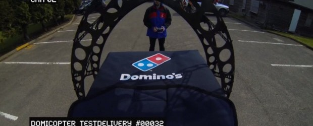 Domino's to Deliver Pizzas Via R/C  Helicopter
