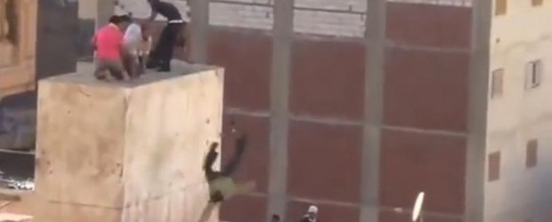 Egyptians Thrown Off Building During Protests
